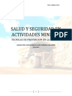 Salud y Seguridad en Actividades Mineras