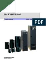 PARAMETROS Variador Micromaster 440