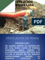 Riesgos en Ventilación en Minería