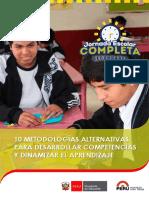 Guía de Metogologías Alternativas