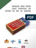 P&D e inovação para micro e pequenas empresas do Estado do Rio de Janeiro - como criar um ambiente de inovação nas empresas. Rio de Janeiro, Rede de Tecnologia do Rio de Janeiro, 2008. 268 p.
