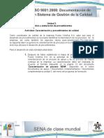 Actividad # 3 Registro del manual de procedimiento