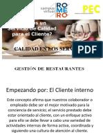 comercializacionSESION 1B - Calidad en Los Servicios