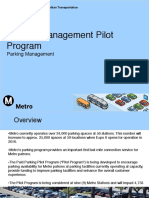 Parking Management Pilot Program - Full Board
