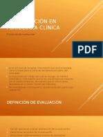 La Evaluación en Psicología Clínica (1)