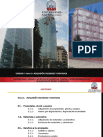 UNIDAD I- TEMA 3-Adquisicion de Bienes y Servicios