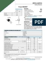 IRF 510 datasheet