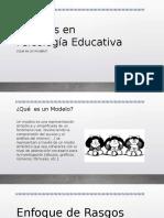 Modelos en Psicología Educativa
