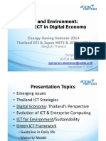 4-EEI - Green ICT in Digital Economy for Thailand
