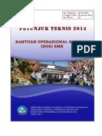 JUKNIS Bantuan Operasional Sekolah (BOS) SMK