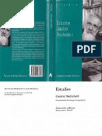 Bachelard - Estudios