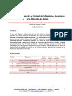 Curso en Prevención y Control de Infecciones Asociadas a La Atención de Salud