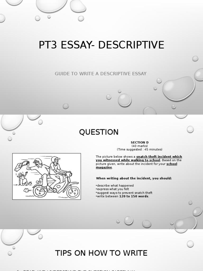 Definition Essays On Success  Mla Format In Essay also Art Critique Essay Pt Essay Descriptive  Essays  Violence Problem Essay Examples