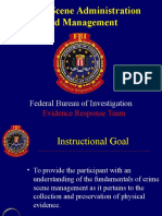 Crime Scene Mgmt (FBI) I.ppt