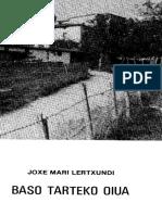 Baso Tarteko Oiua Jose Mari Lertxundi 167