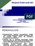Manajemen limbah.ppt