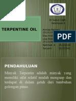 Terpentine Oil Kel.4