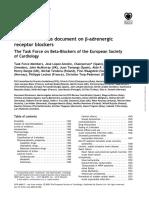 ESC B-Adrenergic Receptor Blockers 2004
