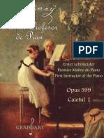 Primul profesor de pian - Czerny opus 599 caietul 1
