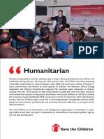 Humanitarian Booklet - Save the Children in Bangladesh
