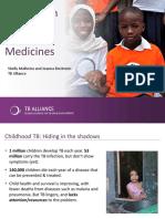 TB Alliance's presentation at World TB Day 2016 webinar
