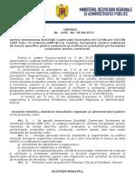 119.Ordin Nr.2445-06.08.2013 Pentru Desemnarea Societatii Comerciale Societatea de Certificare ICECON CERT S.R.L. in Vederea Notificarii La Comisia Europeana