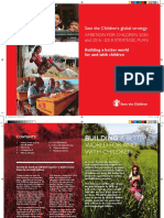 Save the Children's global strategy