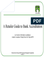 Retailer Guide to Bank Accreditation