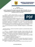 125.Ordin Nr.2439-06.08.2013 Pentru Desemnarea Societatii Comerciale SRAC CERT SERV S.R.L. in Vederea Notificarii La Comisia Europeana