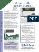 Inter Urban Traffic Management Systems