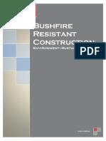 bushfire resistant construction portfolio