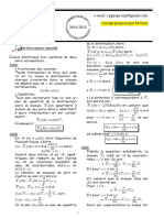 Correct Physique II CNC Maroc 2015