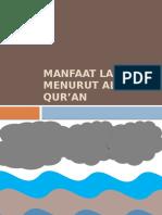 Manfaat Laut Menurut Al-qur'An