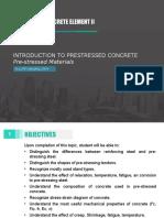 9. Prestress Materials