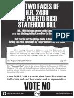 Puerto Rico Statehood bill