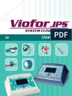 Viofor JPS System Clinic / Delux - User manual (En)