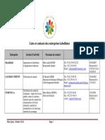 CGEM - Liste et contacts des entreprises labellisées