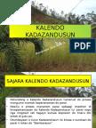 KALENDO KADAZANDUSUN