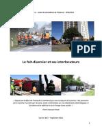 Le fait-diversier et ses interlocuteurs à Ouest France