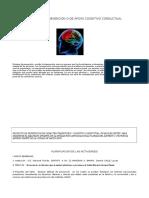 Talleres de Prevencion o de Apoyo Cognitivo Conductual