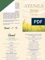 Programa Atenea 2010