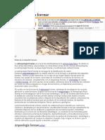 Antropología forense