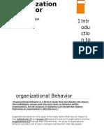 OB as a manager/entrepreneur