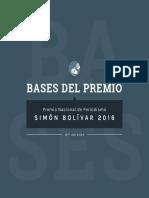 Convocan al Premio Nacional de Periodismo Simón Bolívar