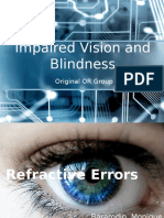 Impaired Vision and Blindness