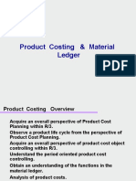 Product Costing Material Ledger Ppt