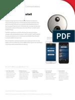 Sky Bell Video Doorbell - Spec Sheet
