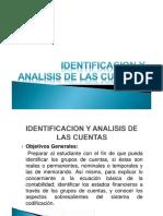 Identificacion y Analisis de Las Cuentas
