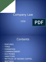Company Law 1956