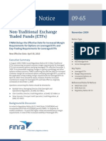 New Margin Requirements for Leveraged ETFs